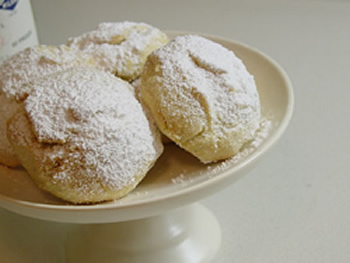 Christmas cookies recipes greek almond cookies holiday dessert ideas forumfinder Gallery